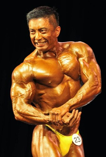 Kevin Chiak Singapore Bodybuilder 2012