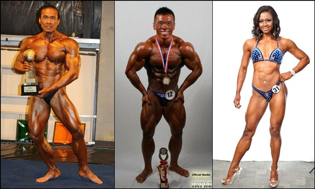 Malaysian And Singaporean Bodybuilders